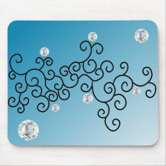 CURVES & DIAMONDS MOUSE PAD