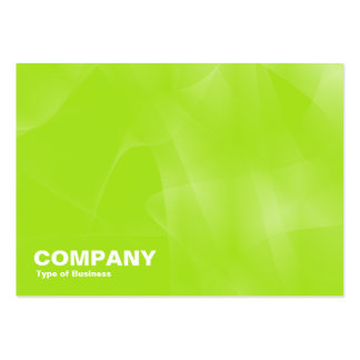 Curves II Green Business Cards