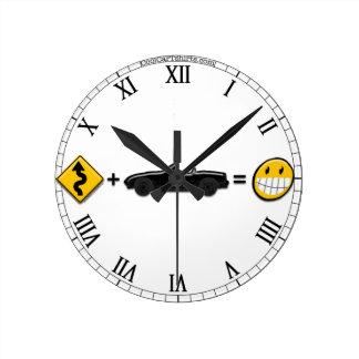 Curves + MX5 = Fun, Clock