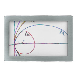 Curves of the Second Order Rectangular Belt Buckle