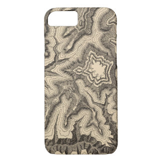 Curves, projecting cusps of the walls iPhone 8/7 case