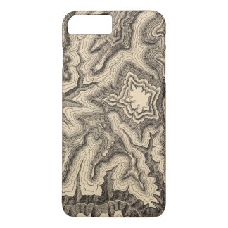 Curves, projecting cusps of the walls iPhone 8 plus/7 plus case