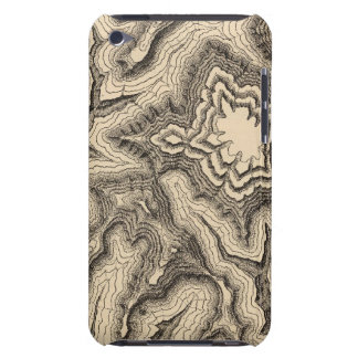 Curves, projecting cusps of the walls iPod touch case