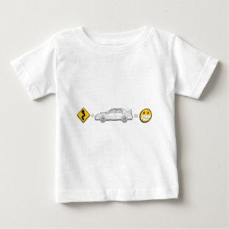 Curves, Subaru, equals fun Baby T-Shirt