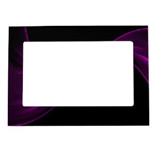 Curving Ribbon purple Magnetic Frame