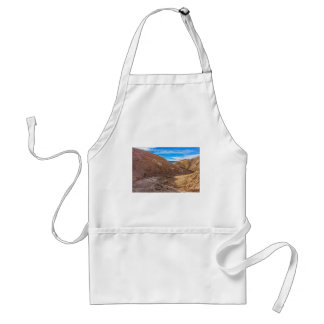 Curving Riverbed at Zabriskie Point. Adult Apron