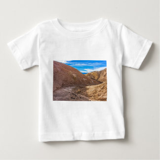 Curving Riverbed at Zabriskie Point. Baby T-Shirt