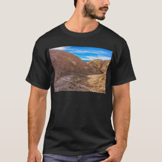 Curving Riverbed at Zabriskie Point. T-Shirt