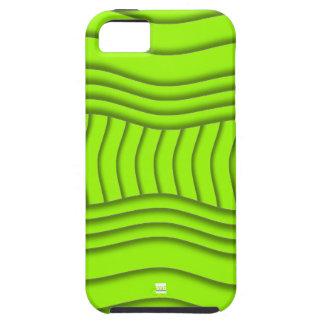 Curvy Lime Green iPhone 5 Tough Case