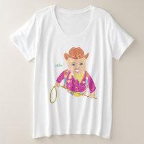 Curvy Mama Cowgirl T-Shirt