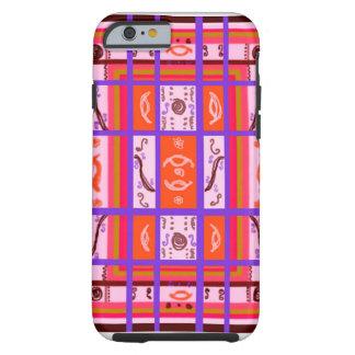 curvy plaid iPhone 6 case