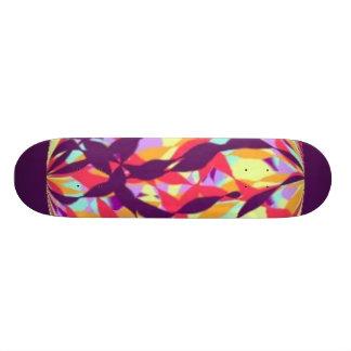 curvy rainbow skateboards