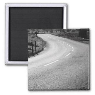 Curvy Road Magnet