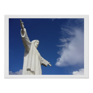 cusco jesus border poster