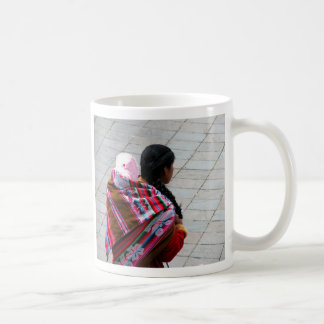 Cusco, Peru, mother and child 2 Coffee Mug