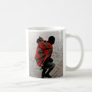 Cusco, Peru, mother and child Coffee Mug