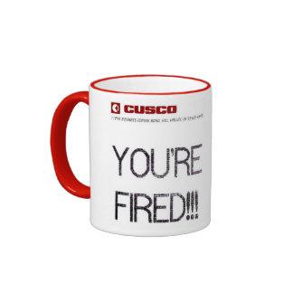 Cusco - You´re Fired Ringer Mug