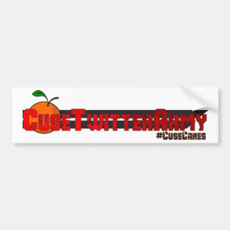 Cuse Twitter Army Bumper Sticker Car Bumper Sticker