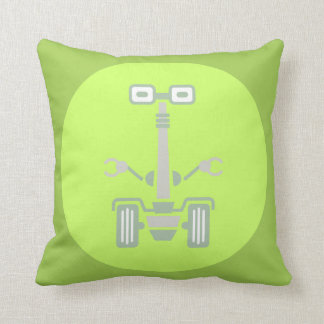 Cushandroid giraffoid throw pillow