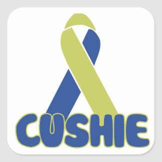 Cushie Square Sticker