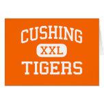 Cushing - tigres - High School secundaria - Cushin Tarjetas