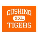 Cushing - tigres - High School secundaria - Cushin Postales