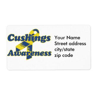 Cushings Awareness Ribbon Label