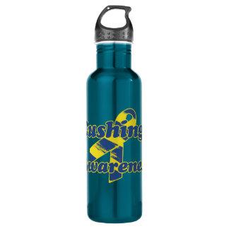 Cushings Awareness Ribbon Water Bottle