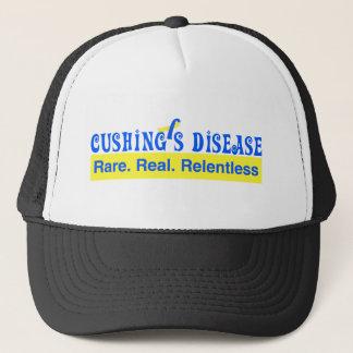 Cushing's Disease:  Rare. Real. Relentless Trucker Hat