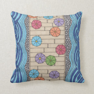 Cushion At the edge of the sea GraphiZen Throw Pillow