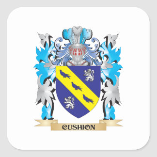 Cushion Coat of Arms - Family Crest Sticker