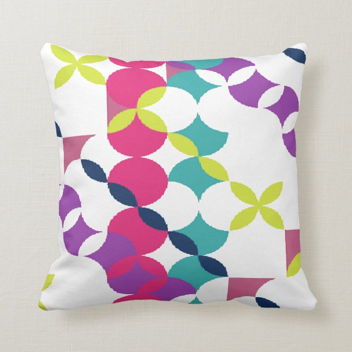 "Cushion ""Colours Abstract """