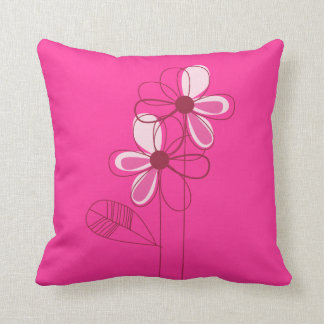 Cushion Flores Pink