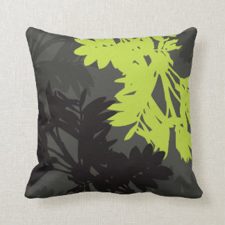Lime Green And Gray Pillows - Decorative & Throw Pillows Zazzle