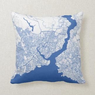 Cushion Istanbul urban Pattern BLUE