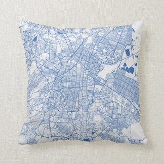 Cushion Mexico urban Pattern BLUE