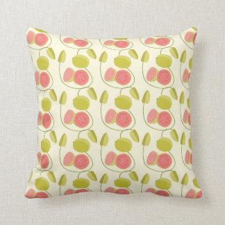 Cushion neutral Guava Throw Pillows