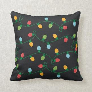 Cushion Pillow Christmas Lights