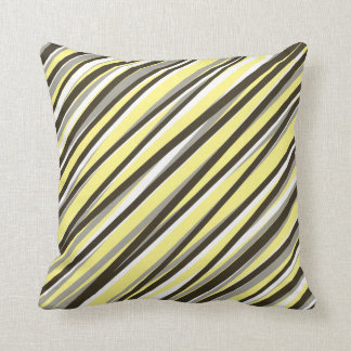Cushion Pillow Rays in Yellow Background