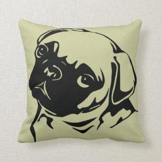 """Cushion """"Pug """" Pillow"""