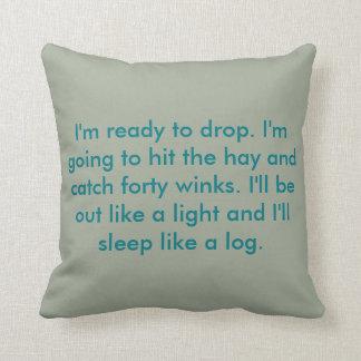 Cushion - Sleepy Pillow