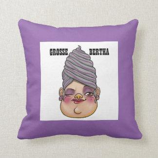 Cushion vis-a-vis Bertha Pillow