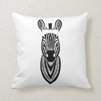 Cushion zebra streaked