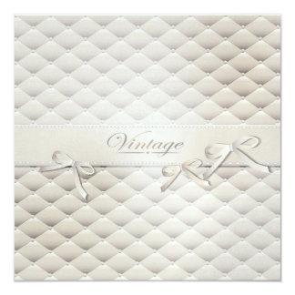 """cushioned invitation 5.25"""" square invitation card"""