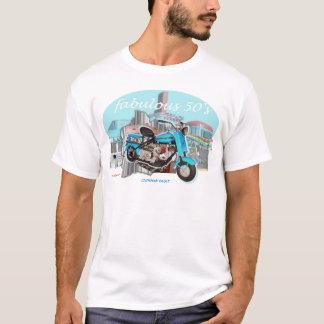 Cushman_Eagle_Blue T-Shirt