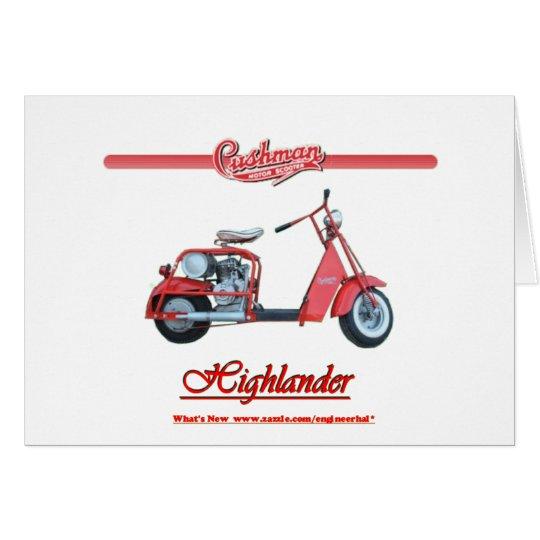 Cushman Highlander Scooter Card