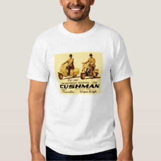 Cushman Pacemaker and Super eagle scooters Tee Shirt