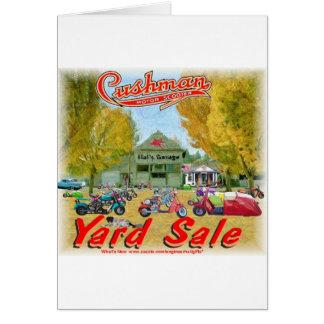 Cushman Yard Sale Card