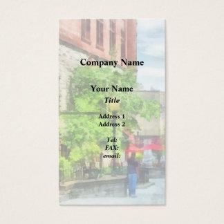 CusNorth Pearl Street, Albany, NY Business Card