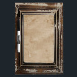 """Cusomizable Rustic Frame Dry Erase Board<br><div class=""""desc"""">Customize with your own text or graphics</div>"""